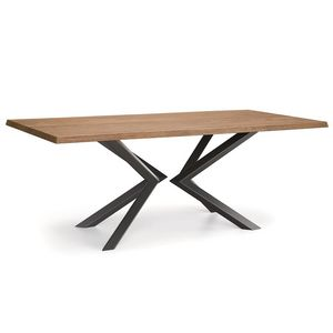 Natisa Srl, Mesas en madera y metal