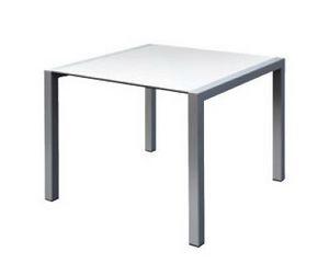 Space cod. 100, Mesa de aluminio robusto, de restaurante al aire libre
