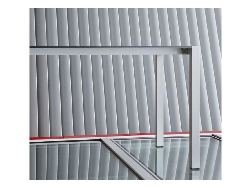 Space cod. 101, Mesa rectangular de aluminio en diferentes colores