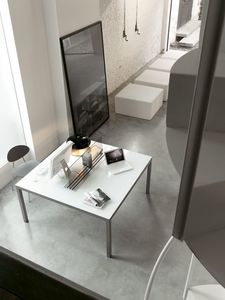 dl50 detroit, Mesa de diseño esencial, cuadrado, para la oficina