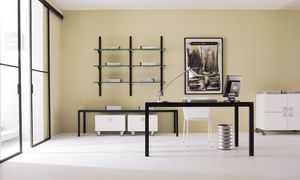 dl50 londra, Mesa de operaciones de acero, tapa de cristal, para Studio