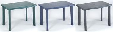 Faretto, Mesa para jardines, hecho de plástico resistente