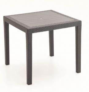 King, Mesa al aire libre en polipropileno