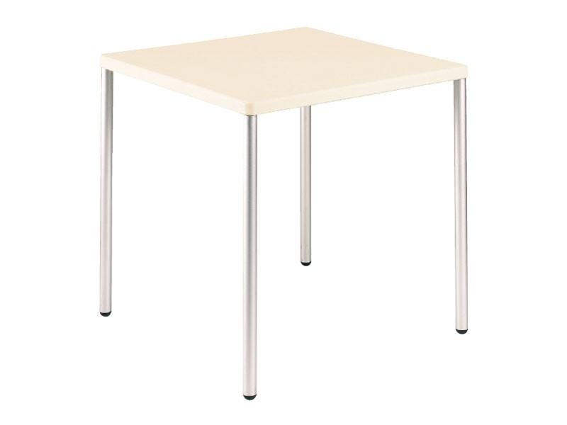 Table 72x72 cod. 06/I, Apilable mesa de centro cuadrada, para el uso del contrato