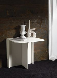 Art. 749 Snack, Mesa de madera blanca, plegable