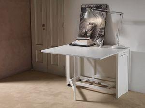 Art. 750 Party, Mesa plegable, con contenedor de almacenamiento para las sillas