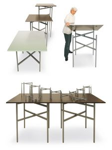 BuffetCube - Buffet, Mesa plegable para buffets y catering, adaptable