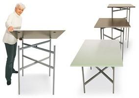 BuffetCube - Buffet, Mesa plegable para buffets y catering, adaptable