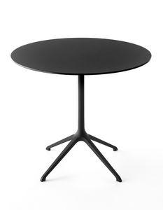 Elephant table ronda, Mesa redonda de diseño, con base de 4 estrellas