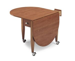 Fly, Mesa plegable en madera de haya