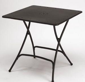 Pieghevole, Mesa plegable de metal para jardín