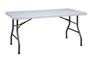 Resol.C - Mahler, Mesa plegable rectangular, en hierro, para el restaurante