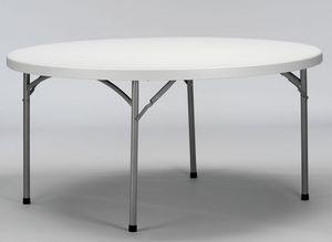 Resol.C - Verdi, Mesas plegables, práctico, parte superior de plástico, para banquetes