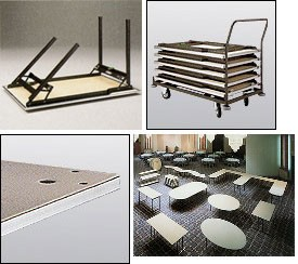 Slimfold STB.15, Mesas multiusos para catering y buffets
