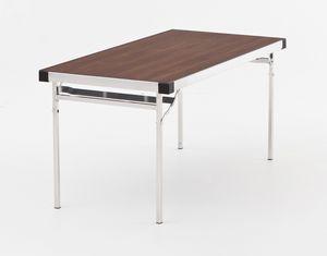 Slimlite BSL1875, Mesa plegable, de aluminio, modular para aplicaciones externas