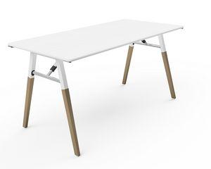 A-Fold AF1575, Mesa rectangular para reuniones, conferencias y banquetes.