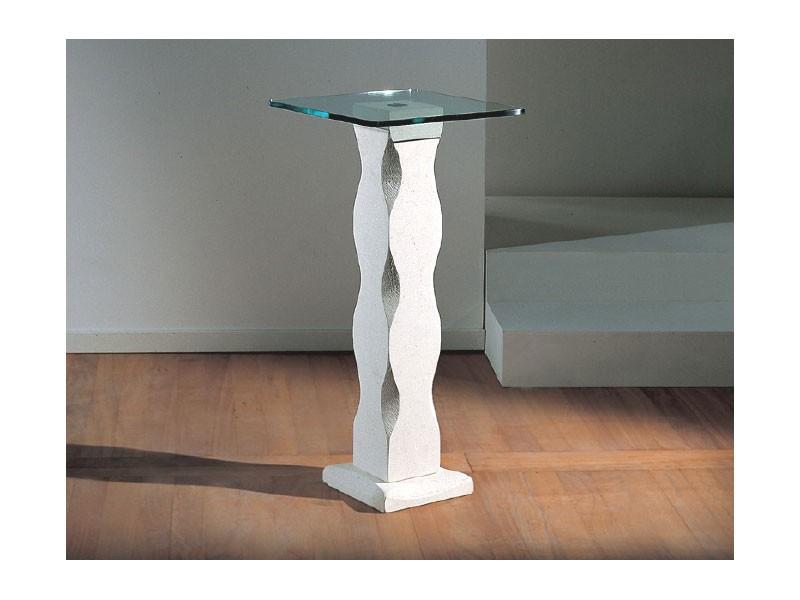 Matisse, La tabla con columna de piedra y tapa de cristal