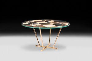 Piet, Mesa redonda de diseño moderno y elegante