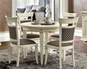 Treviso mesa redonda, Mesa de comedor redonda
