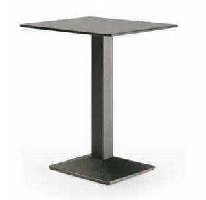art. 4560-Quadra, Mesa para restaurante, con tapa cuadrada