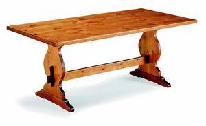 6160 Frattino, Mesa rústica de madera de pino