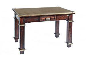 Art. 484RPS, Mesa de campo, madera y acero corten