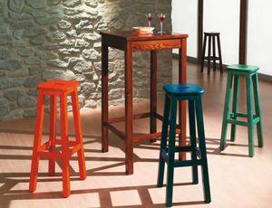 Bar-A, Alta mesa de pino para pubs rústicos