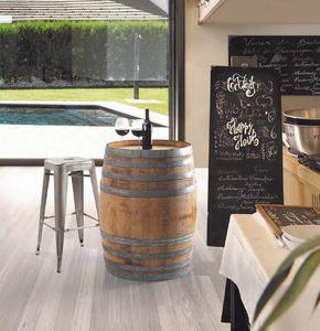 Botte, Barril utilizable como una mesa para barras de vino