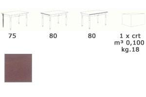 T/080G, Mesa cuadrada en estilo rústico, de madera, para el bar de vinos