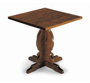 Tirano-410, Mesa rústica en madera de pino