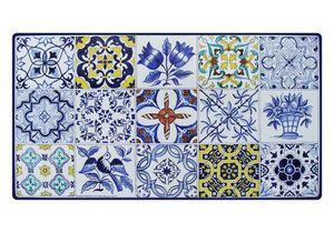 Azulejos, Mesa inspirada en los azulejos de mayólica portuguesa