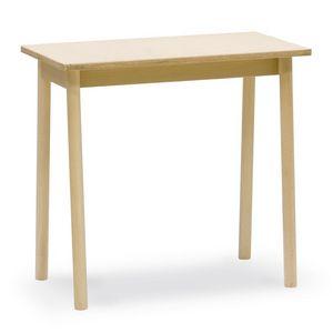 Mesa de centro Desk, Mesa de centro en madera de haya, ideal para bares y tabernas