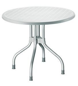 Ribalto Top, Mesa para exterior con la parte superior reclinables