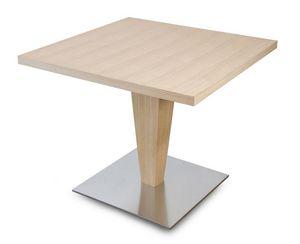 T Carol, Mesa cuadrada de madera, para bares y restaurantes