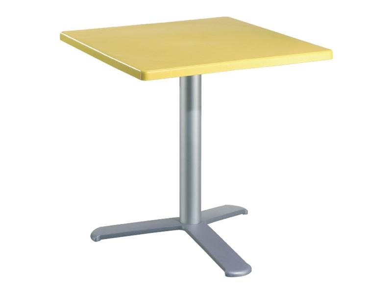 Table 80x80 cod. 23/BG3L, Mesa resistente a la intemperie para el restaurante al aire libre