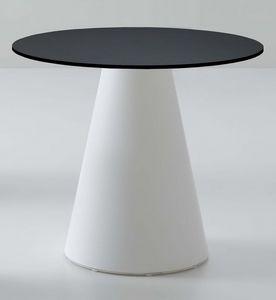 Roller tavolo 56, Mesa de bar, en plástico, diseño