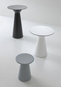 Roller tavolo 74, Mesa de bar en el polímero, la parte superior CompacTop