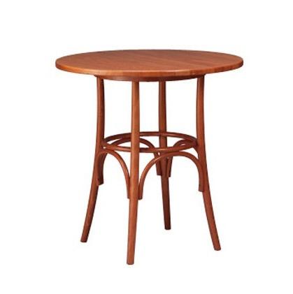 601, Base de mesa de bar, en madera doblada