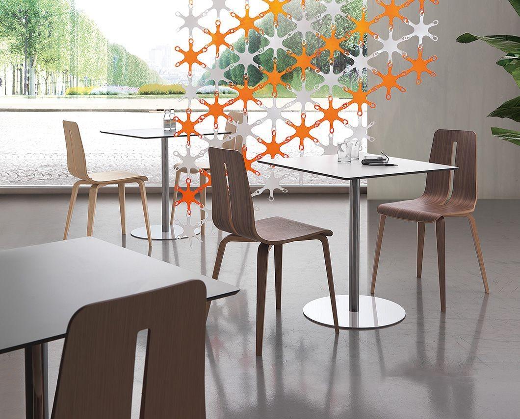 Jolly, Mesas modernas con tapa laminada, para Hoteles