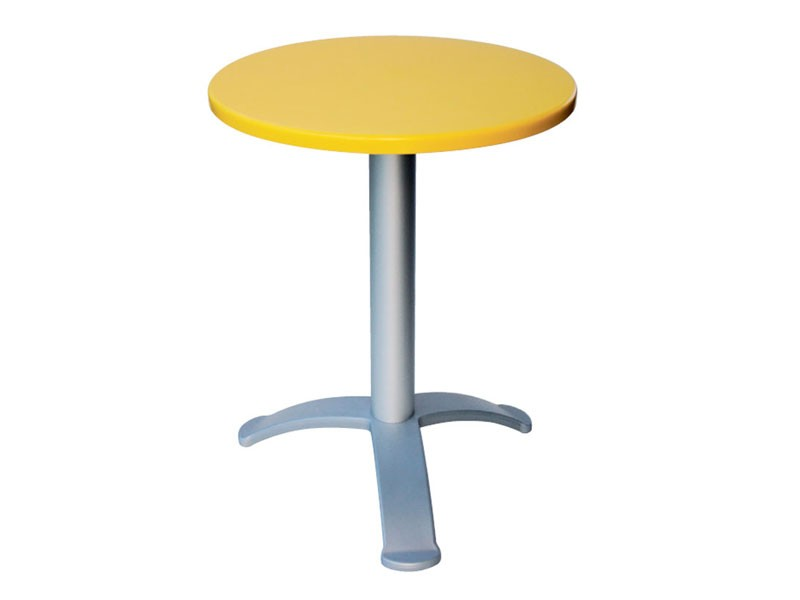 Table Ø 60 cod. 04/BG3, Mesa de café bar moderno, para cafés al aire libre