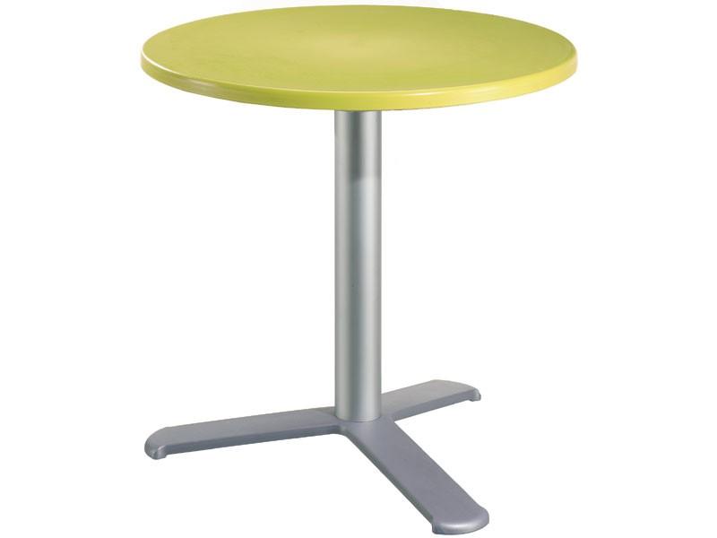 Table Ø 60 cod. 04/BG3L, Mesa de bar al aire libre, la parte superior de polipropileno