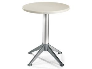 Table Ø 60 cod. 04/BG4A, Mesa auxiliar moderna con base de 4 pies