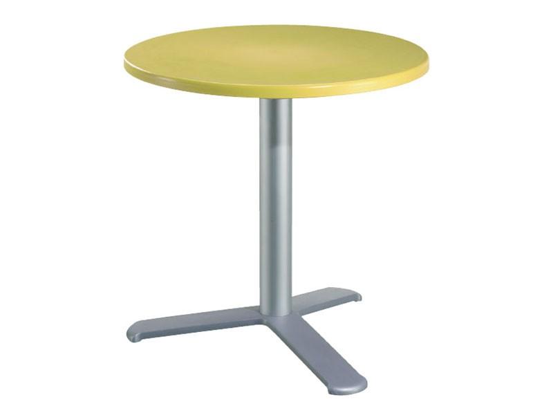 Table Ø 72 cod. 03/BG3L, Tabla de la barra en aluminio y polímero
