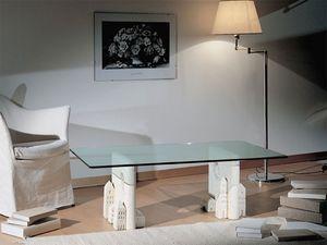 Carioca, Mesa de café hecha de piedra, de estilo contemporáneo