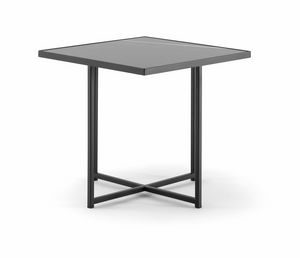 DENVER COFFEE TABLE 085, Mesas de centro con base de metal