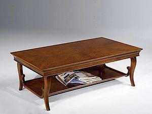 Eleonora mesa de café, Mesa de centro con dos tapas