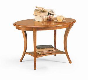 Friedrich tavolino, Mesa ocasional en madera, con estilo clásico