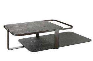 Montecarlo mesa de centro, Mesa de centro con dos tapas