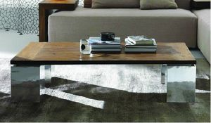 Noa mesita, Mesa de centro con tapa de teca