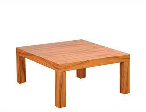 Silva 907, Mesa de centro cuadrada en madera